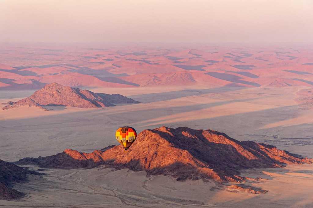 Ballonfahrt über die Namib