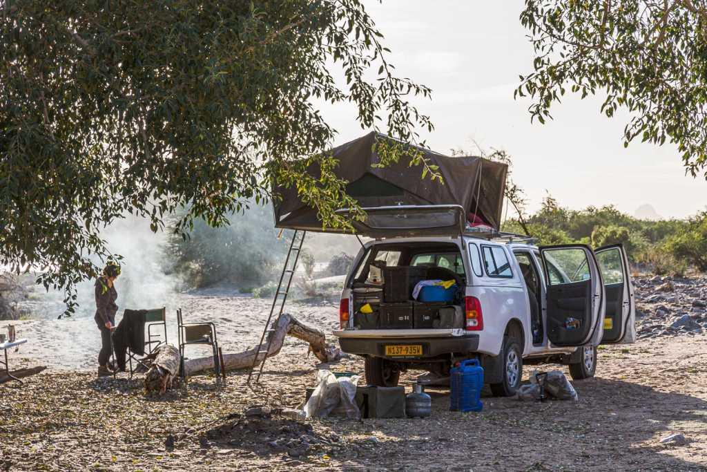 Camp im Namaqualand