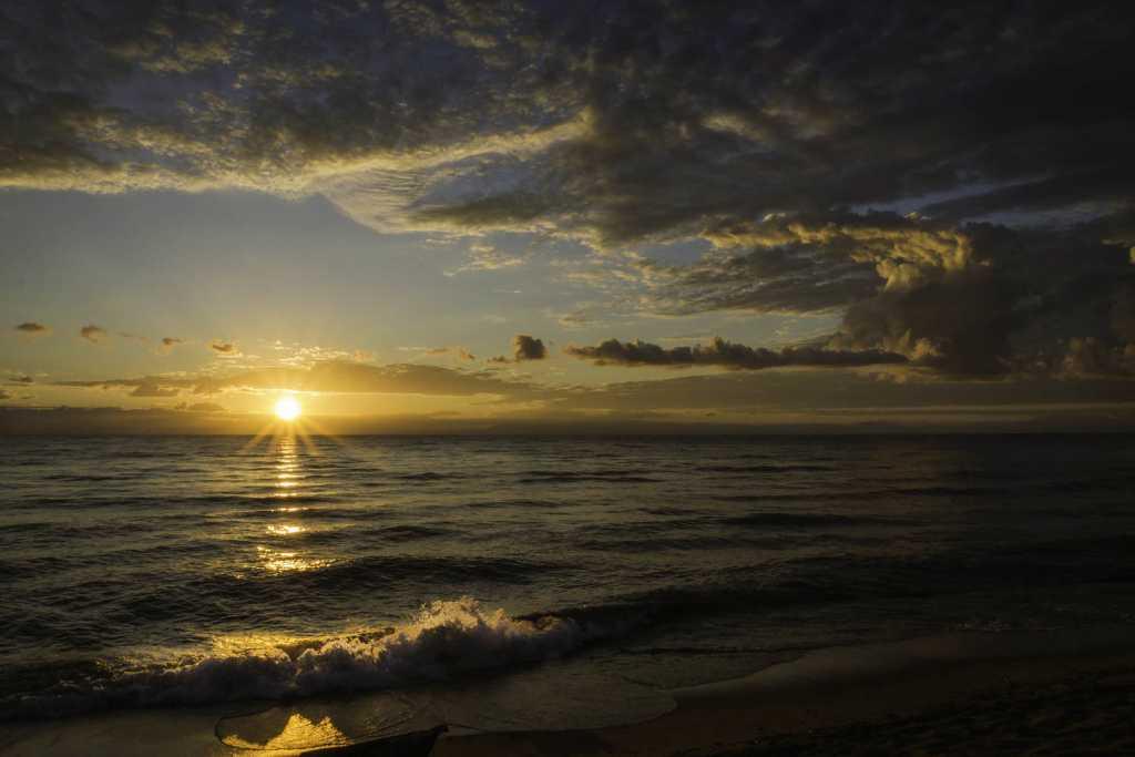 Sonnenuntergang am Lake Malavi